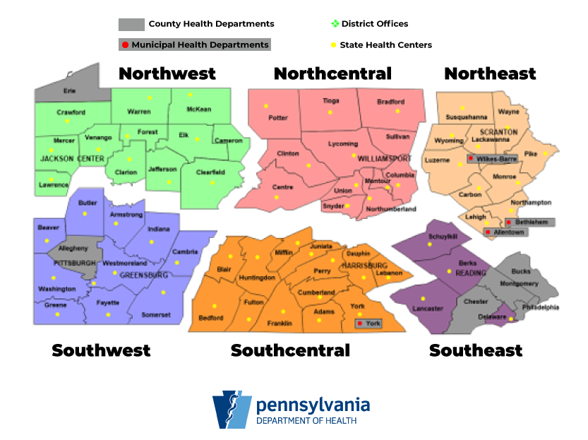 Gov. Tom Wolf says Pennsylvania will reopen its economy region by region. (Source: Pa. Dept. of Health)