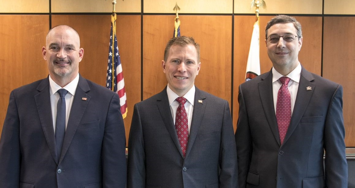 From left, Lancaster County Commissioners Craig Lehman, Josh Parsons and Ray D'Agostino.