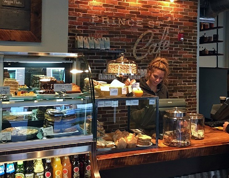 Prince Street Cafe (Source: City of Lancaster)