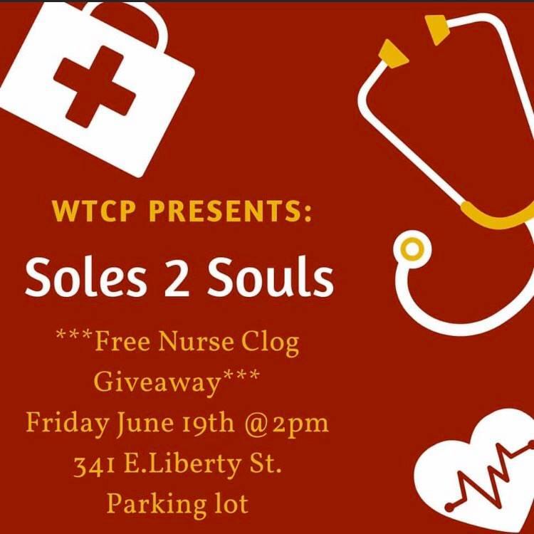 Soles 2 Souls: Nurse clog giveaway in Lancaster