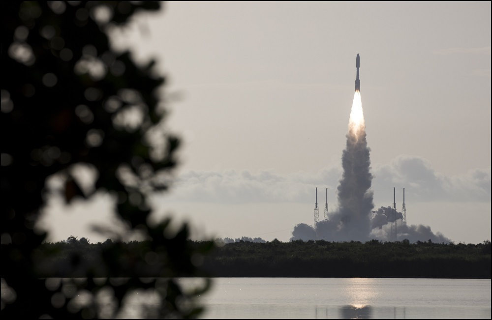 NASA launches an Atlas V rocket carrying the Mars rover Perseverance on Thursday, July 30, 2020. (Source: NASA)