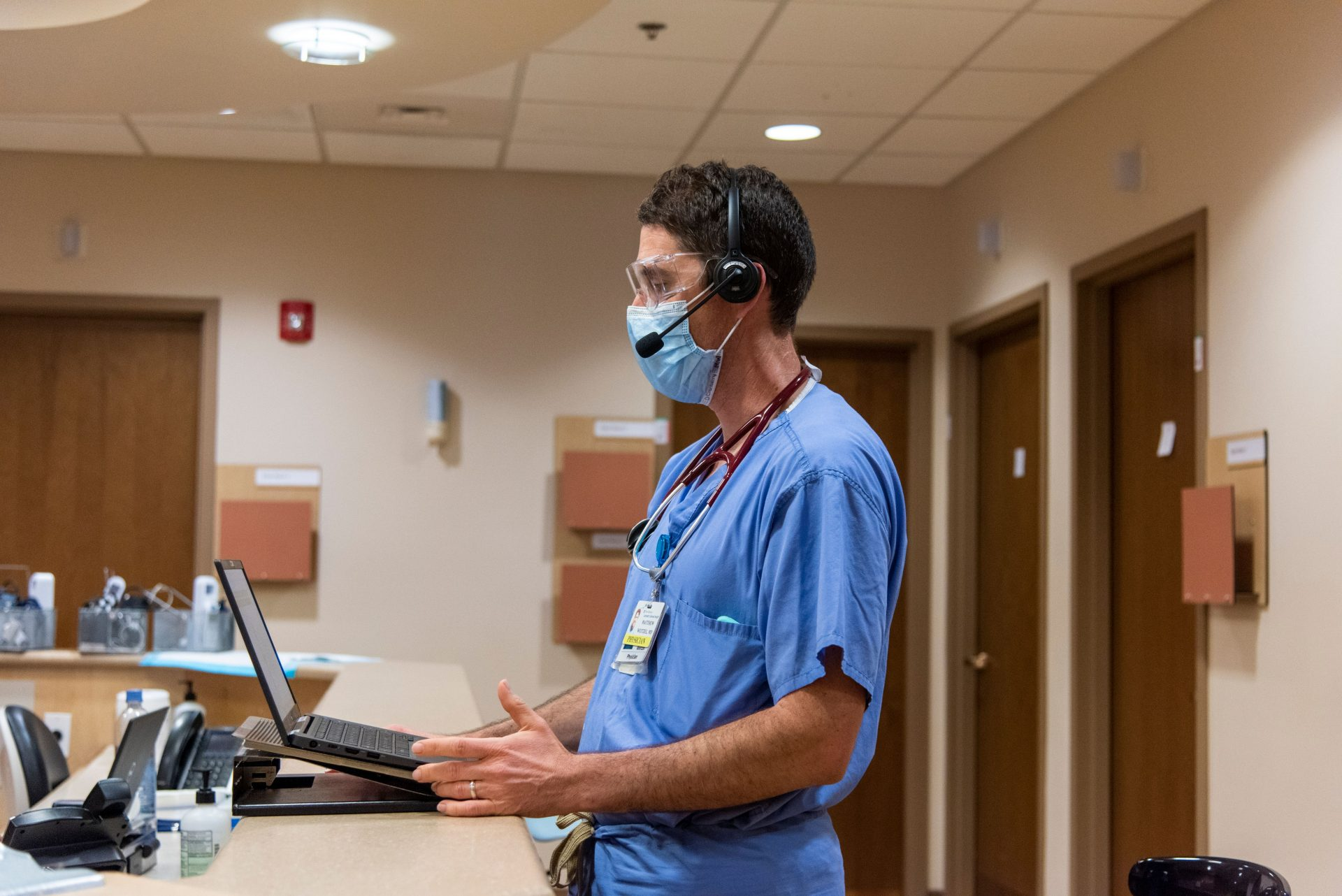 Lancaster Health Center stays in touch with patients through telemedicine