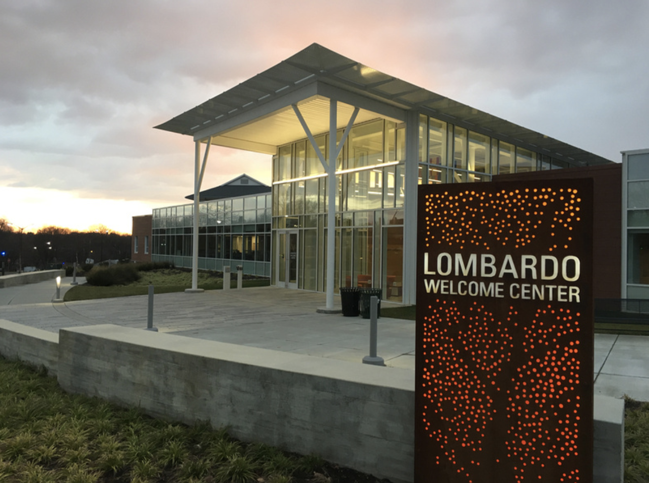Lombardo Welcome Center, Millersville University. (Source: Millersville U.)