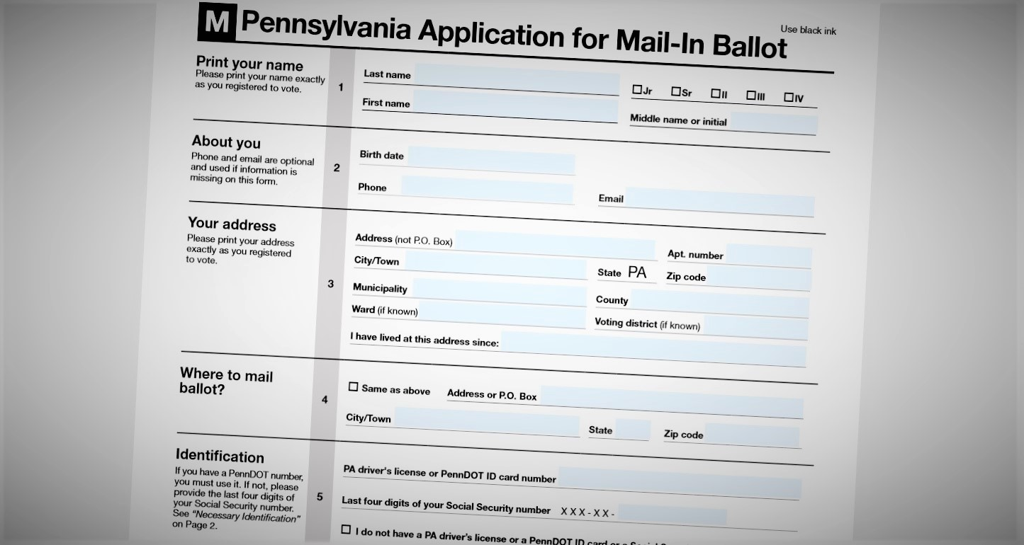 Pa. sees huge changeover to mail-in voting