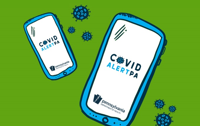The Covid Alert PA app is now available. (Source: Pa. Dept. of Health)