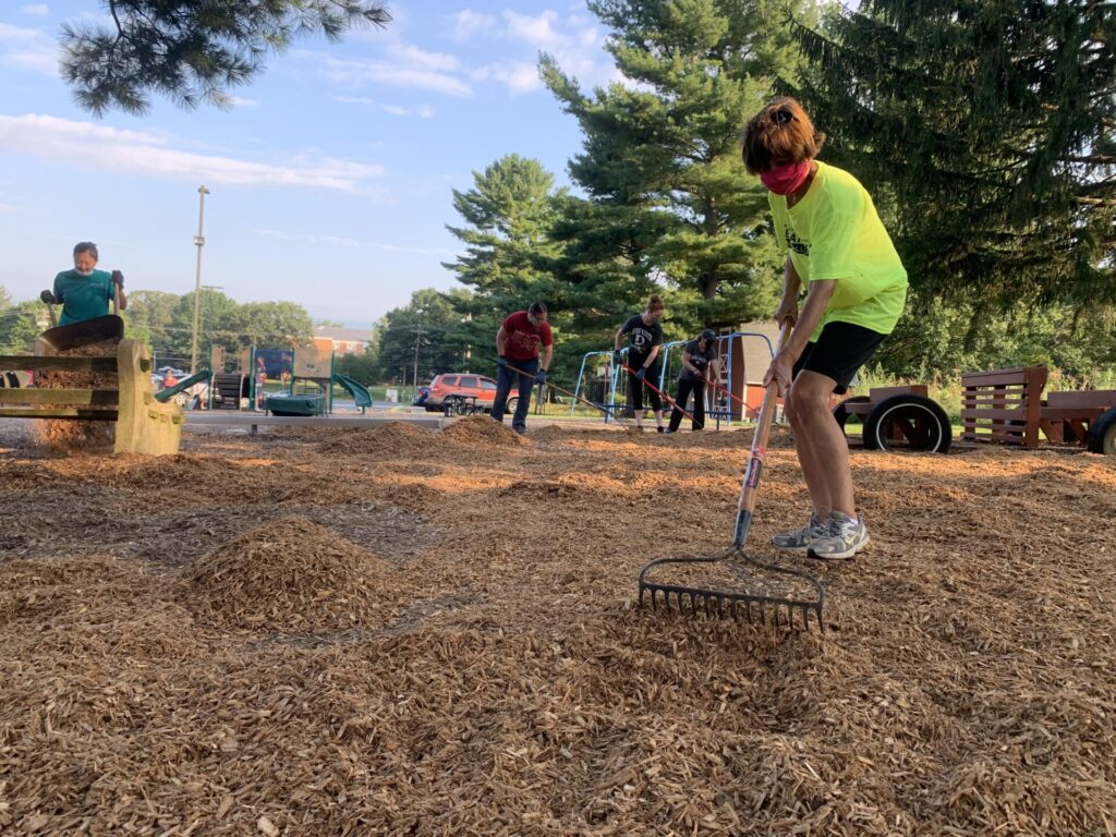 Video: Volunteers give back to community during Day of Caring