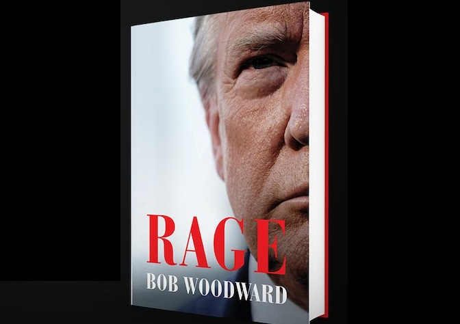 Journalist Bob Woodward's forthcoming book reveals President Trump intentionally misled Americans about Covid-19. (Source: BobWoodward.com)