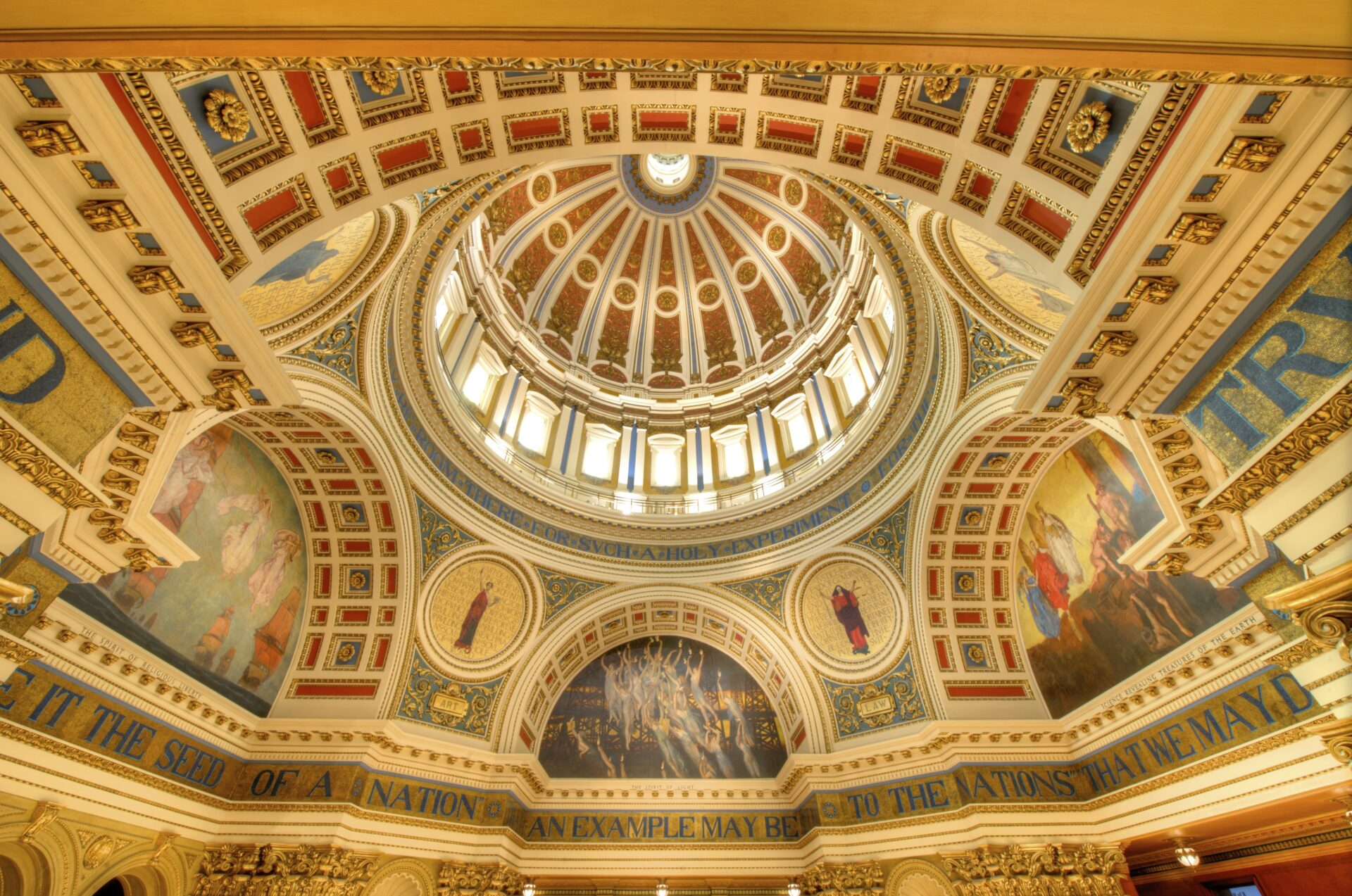 The Pennsylvania State Capitol Rotunda. (Source: Wikimedia)