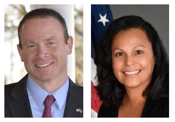State Sen. Scott Martin and Lancaster City Councilwoman Janet Diaz