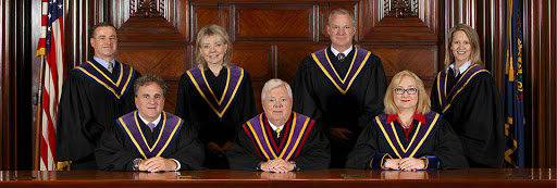 The sitting judges of the Pennsylvania Supreme Court. (Source: The State of Pennsylvania)