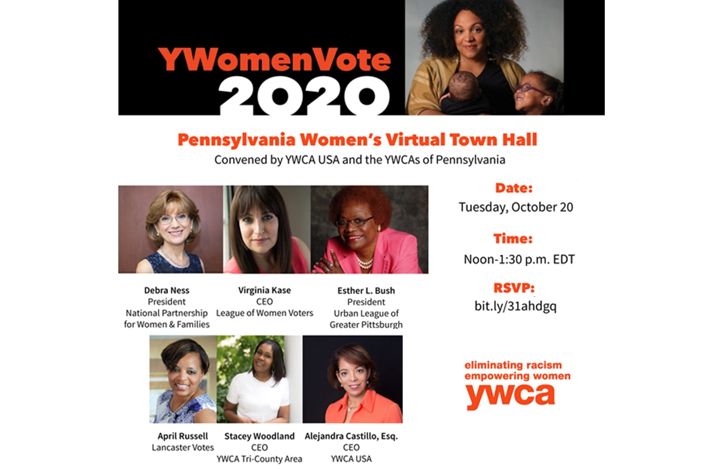 YWCAs to host pre-election virtual town hall