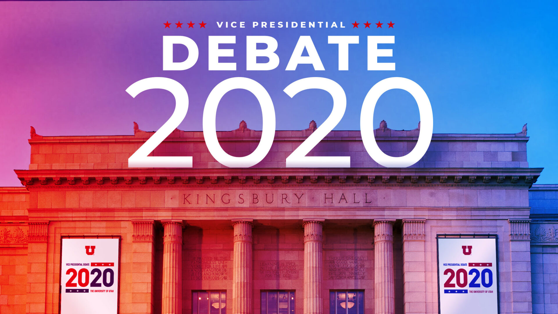 Wednesday's vice presidential debate will happen at the University of Utah in Salt Lake City. (Source: University of Utah)