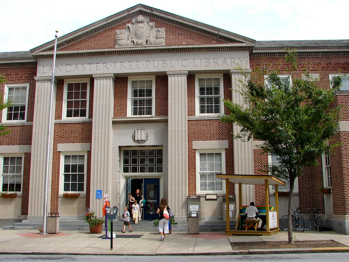 The Lancaster Public Library (Source: Wikipedia)