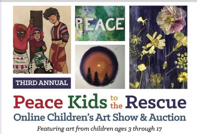 (Source: Peace Kids to the Rescue Art Show)