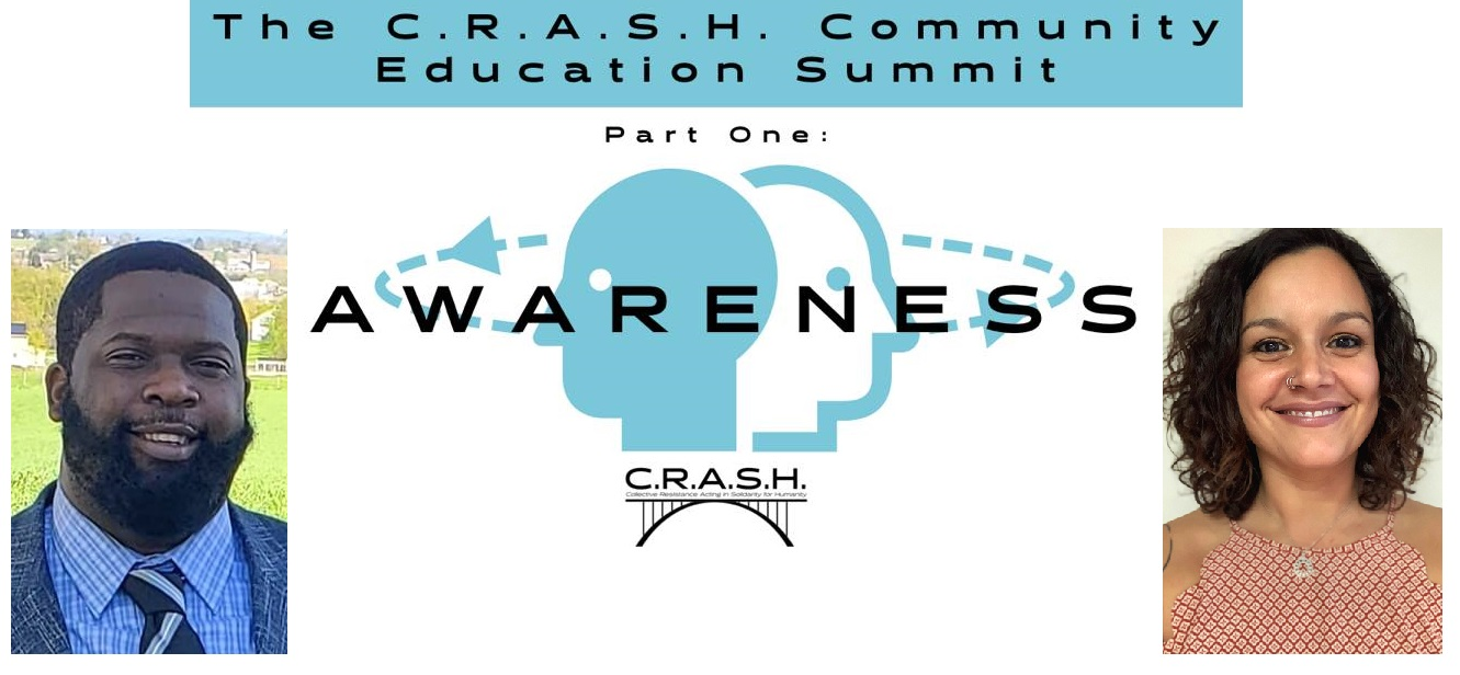 C.R.A.S.H. founders John Maina, left, and Nicole Vasquez, right. (Source: C.R.A.S.H.)