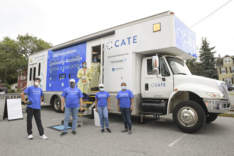 The CATE Mobile Unit. (Source: CATE; Anita Sergent)