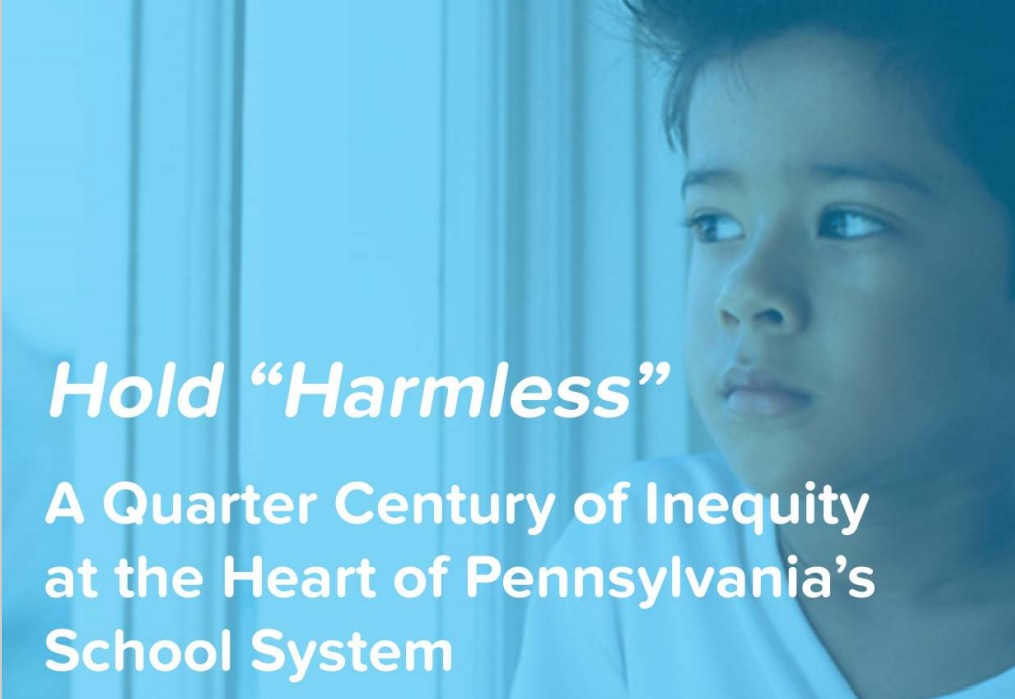 The cover of Public Citizens for Children and Youth' report on Pennsylvania public school funding. (Source: Pccy.org)