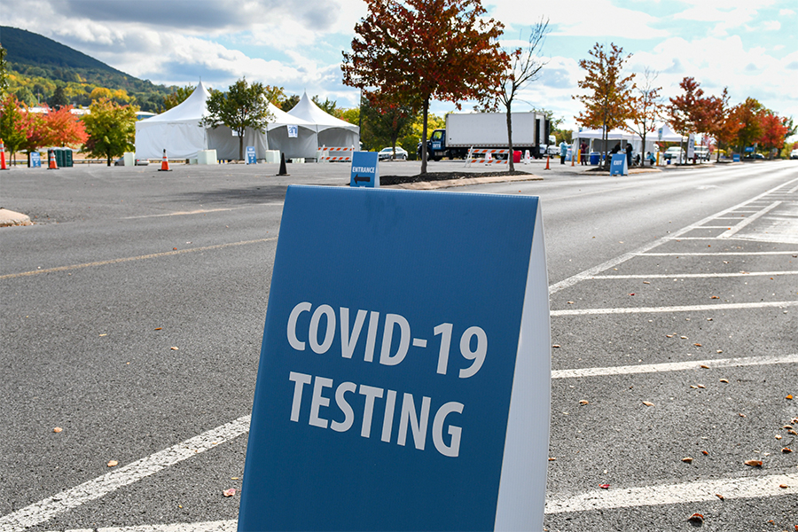 Pop-up Covid-19 test site to open at Park City