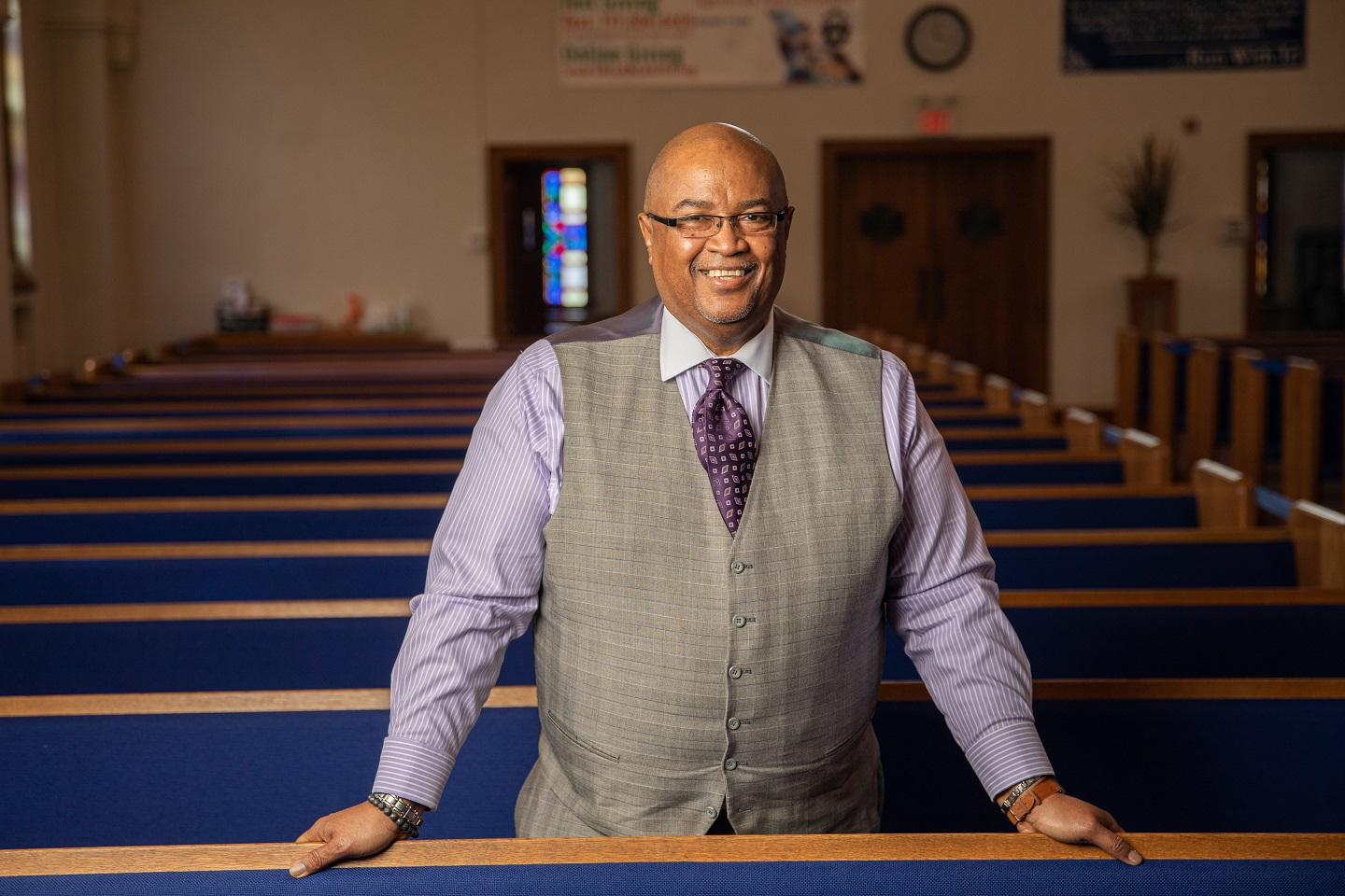 The Rev. Roland Forbes (Photo: PhotOle Photography)