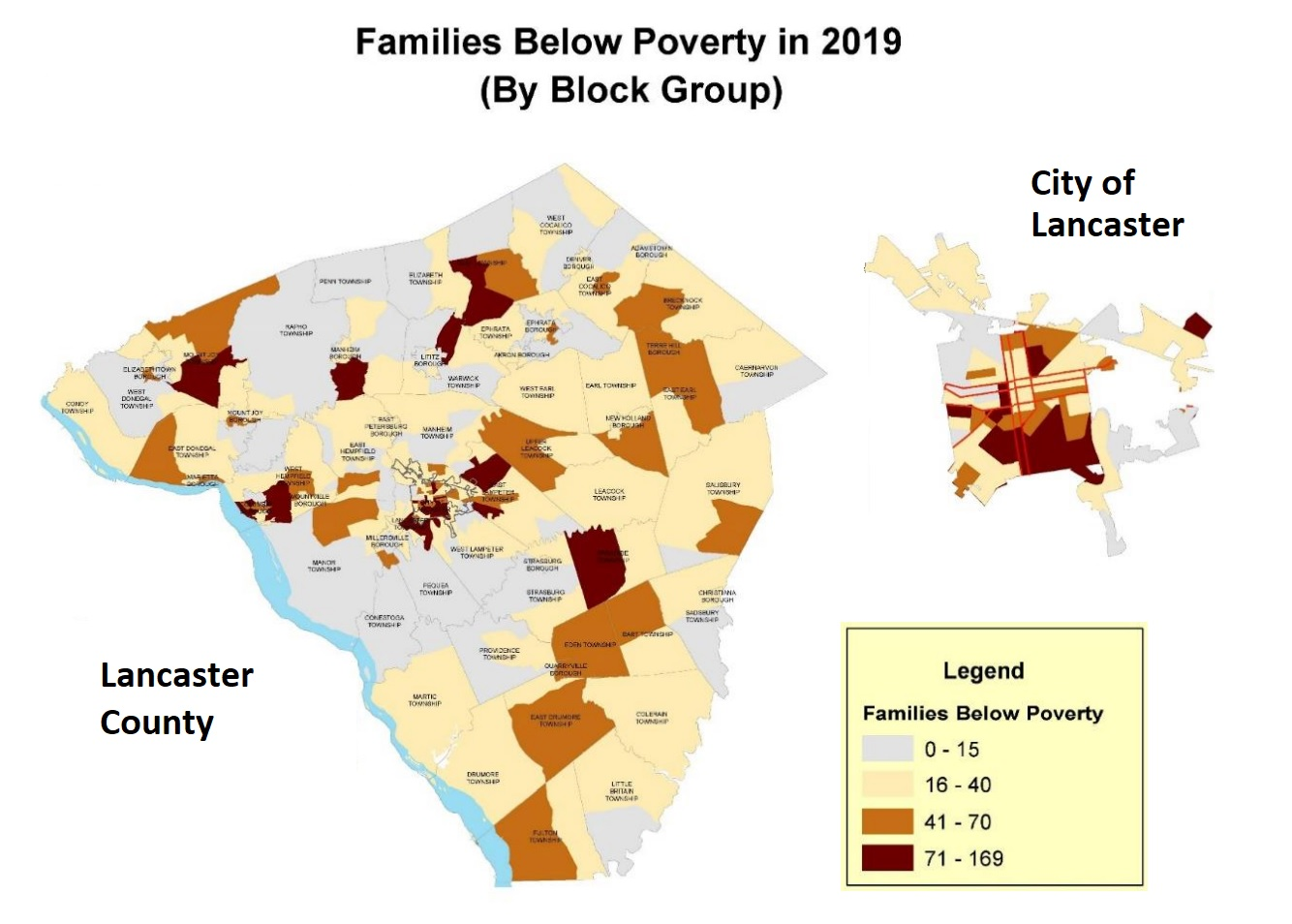 """(Source: Adapted from """"2021 Analysis of Impediments to Fair Housing Choice,"""" City of Lancaster 