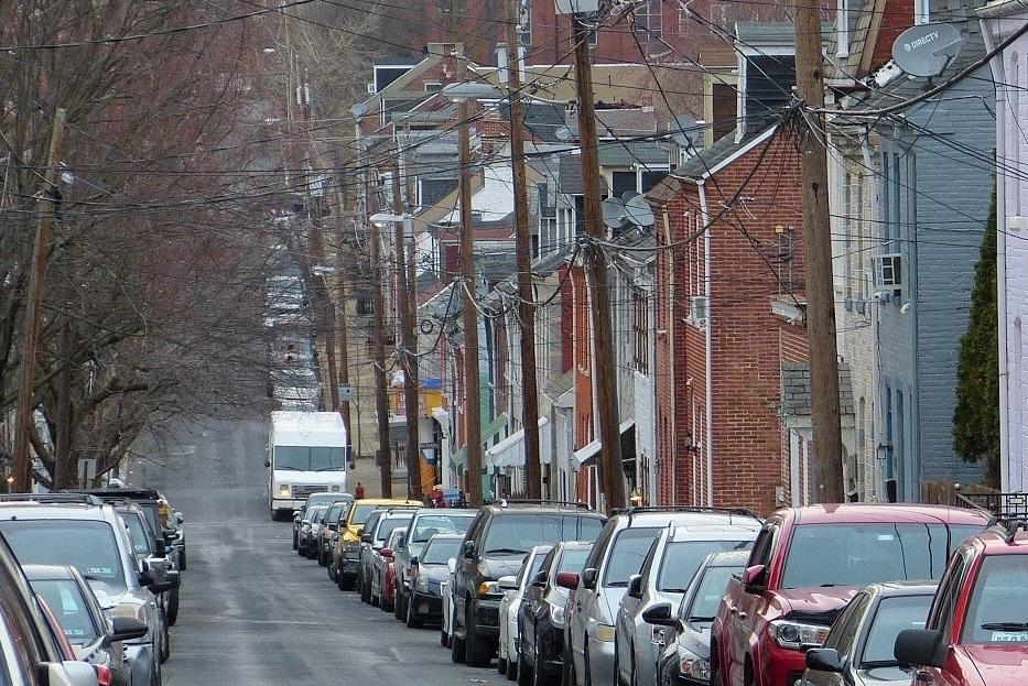 A street scene in Lancaster's Cabbage Hill neighborhood. (Photo: Tim Stuhldreher)