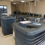 Lancaster County CARES Act funding helped purchase this HVAC equipment for Tec Centro West, seen on Thursday, March 11, 2021. (Photo: Tim Stuhldreher)