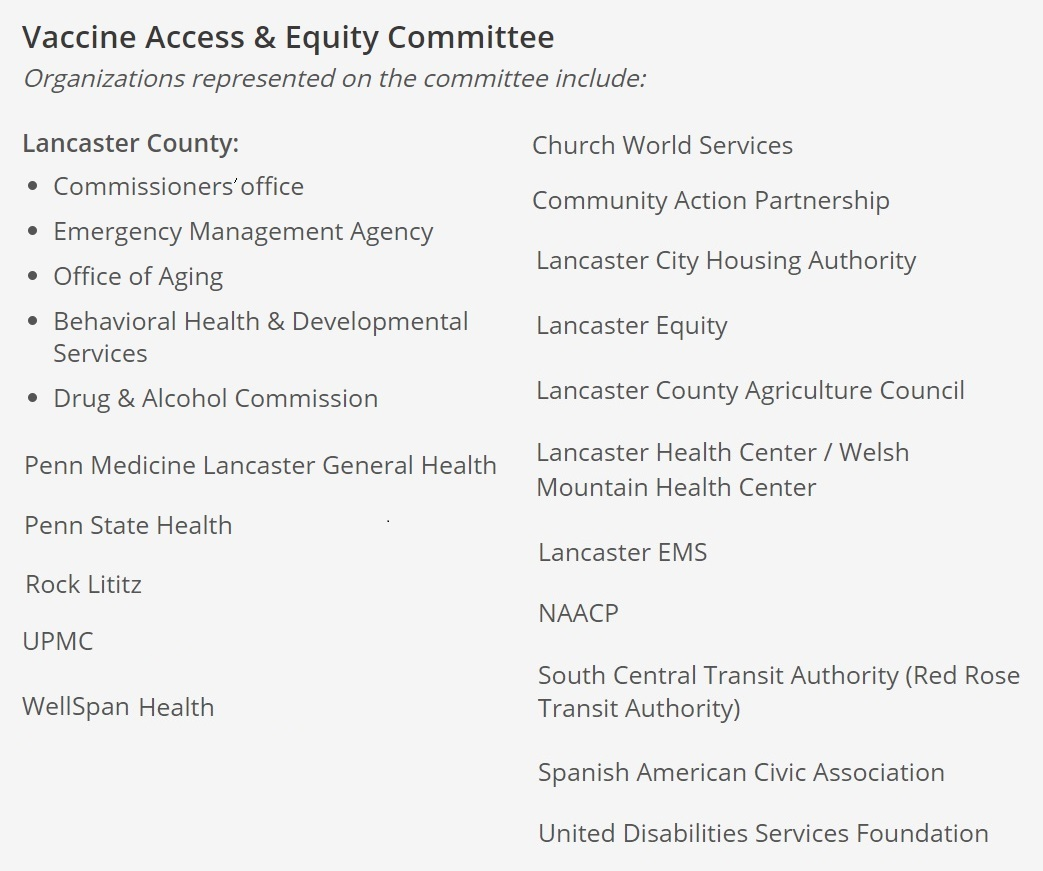 Vaccine Access Committee