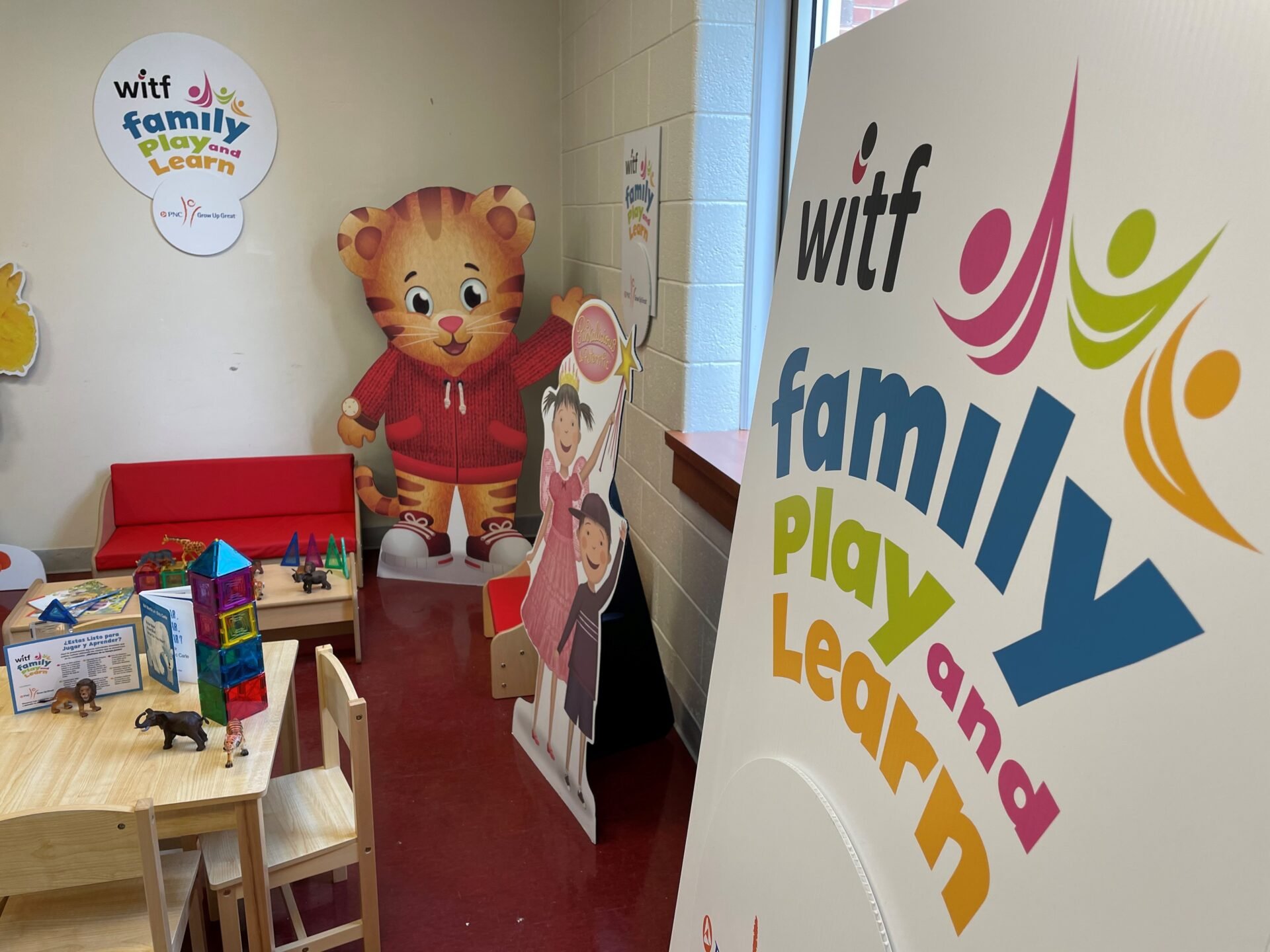 This WITF Family Play and Learn site at Bright Side Opportunities Center officially opened on Thursday, April 23, 2021, along with one at Crispus Attucks Community Center. (Photo: Kyle Gamble)