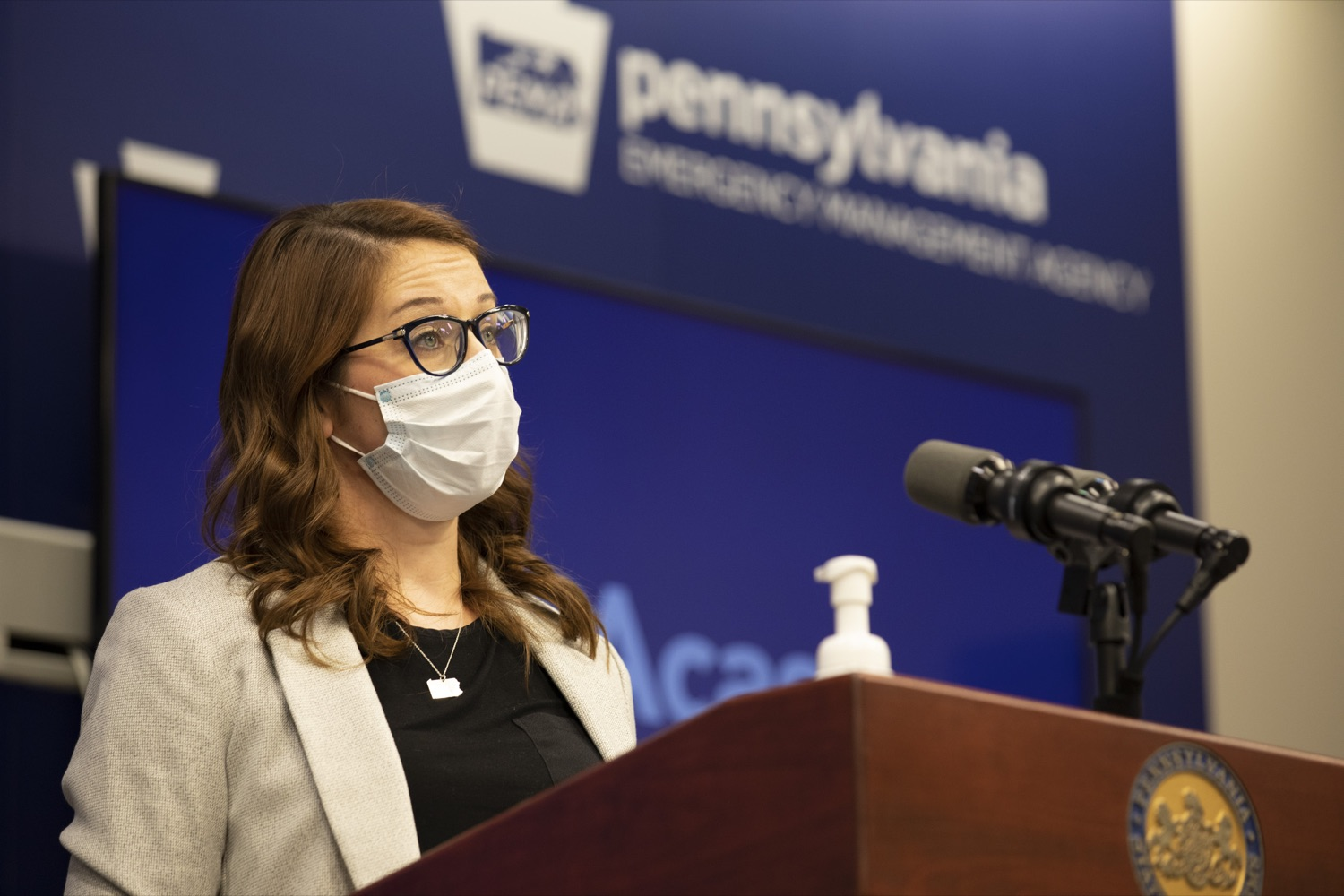 Lindsey Mauldin, Pa. Health Department senior advisor on covid-19 response, speaks during a media briefing on Tuesday, April 6, 2021. (Source: Pa.gov)