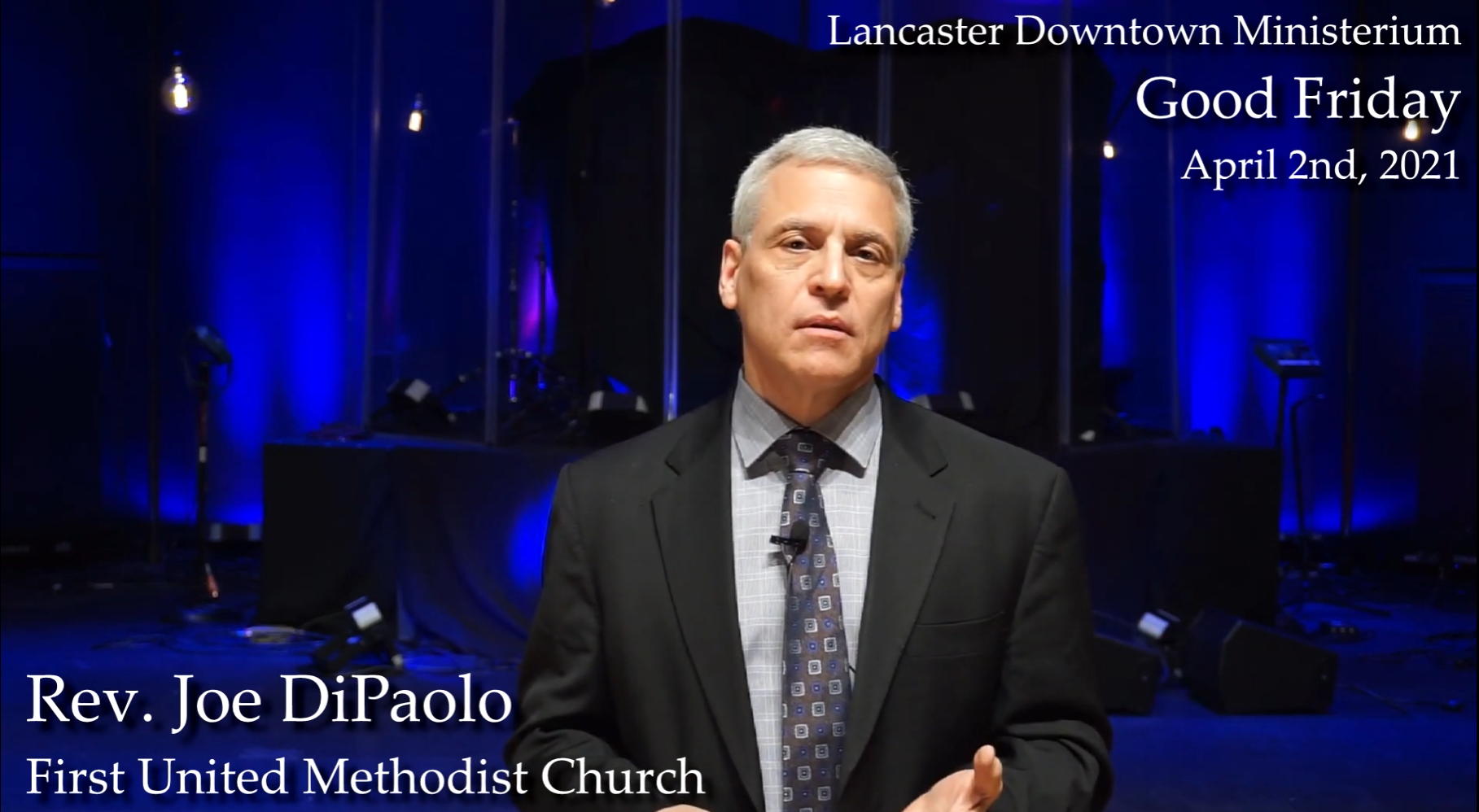 Downtown Ministerium offers virtual Good Friday service