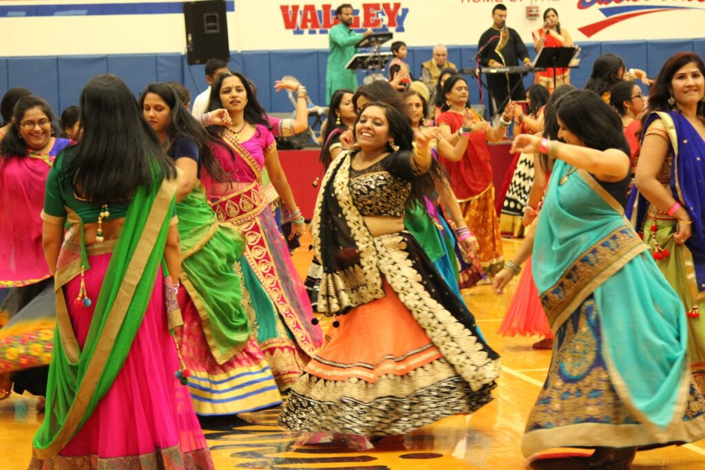 Dancers perform at SAAL's celebration of the Navratri festival. (Source: Provided)