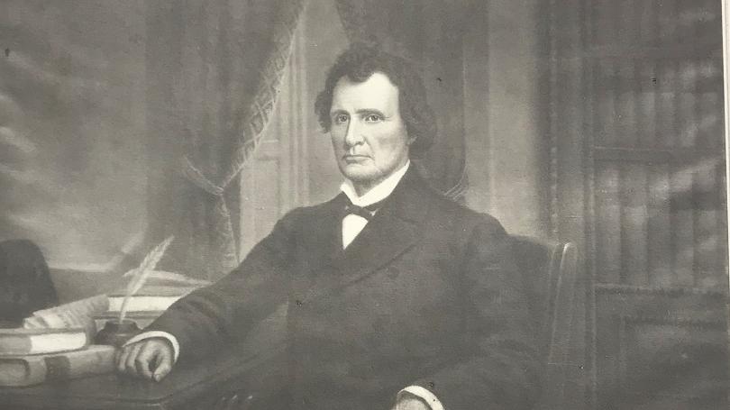 A portrait of U.S. Representative Thaddeus Stevens. (Source: Darthmouth College)