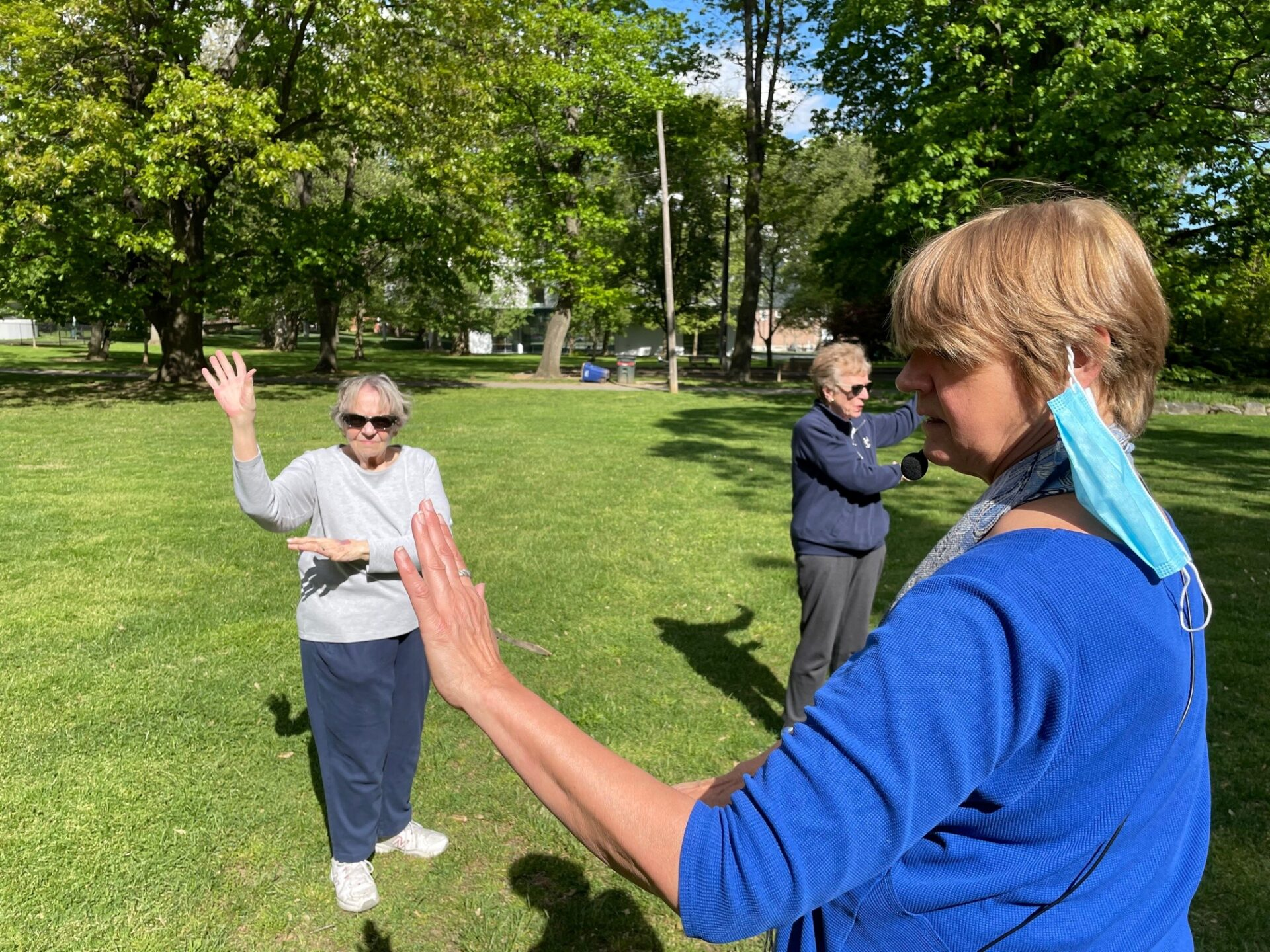 Office of Aging's Tai Chi classes bring seniors together, promote wellness (video)