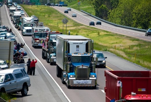 The annual Truck Convoy fundraiser for Make-A-Wish. (Source: Make-A-Wish Philadelphia, Delaware & Susquehanna Valley)
