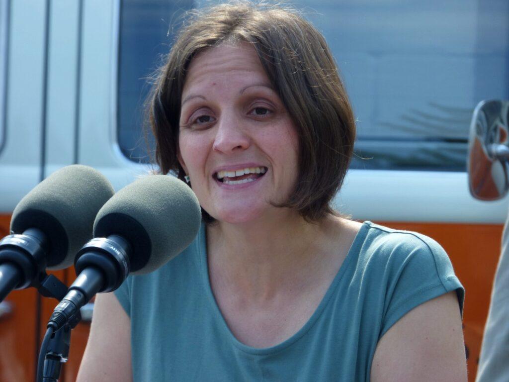 Jennie Groff, CEO of Stroopies Inc. (Photo: Tim Stuhldreher)