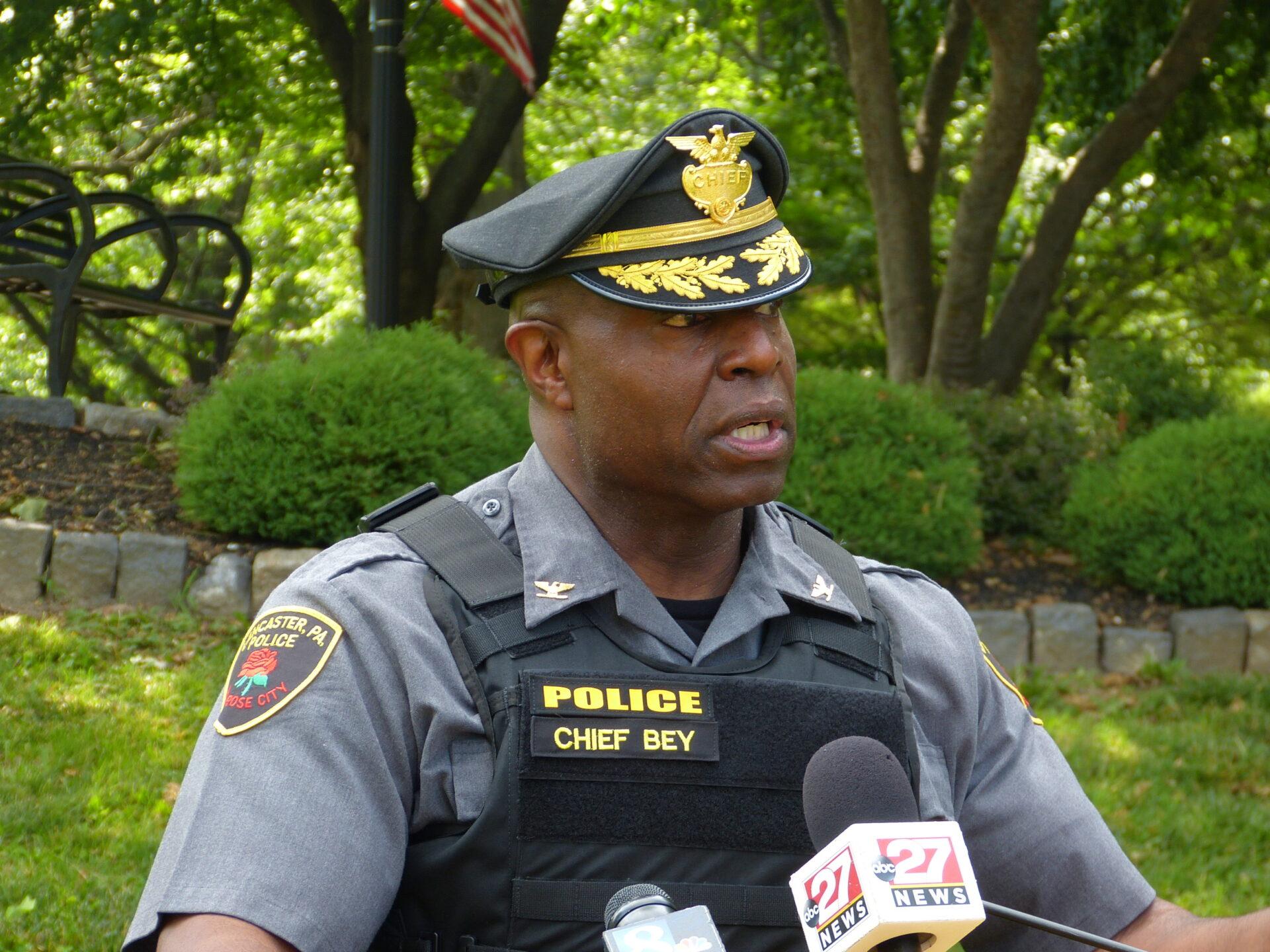 Chief Bey pledges to build trust