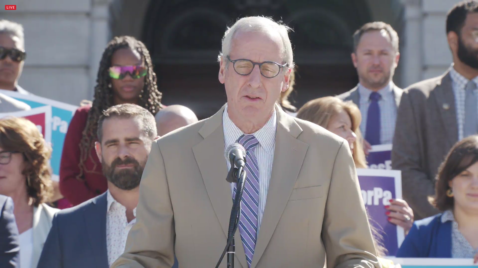 Pa. Rep. Dan Frankel, D-Allegheny, speaks about the Fairness Act during a news conference at the state Capitol on Tuesday, June 15, 2021. (Source: Pa.gov)
