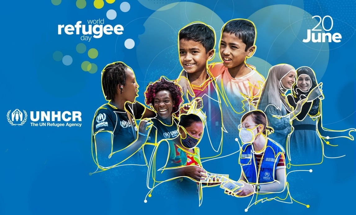 On World Refugee Day, let's stand in solidarity with the world's displaced peoples