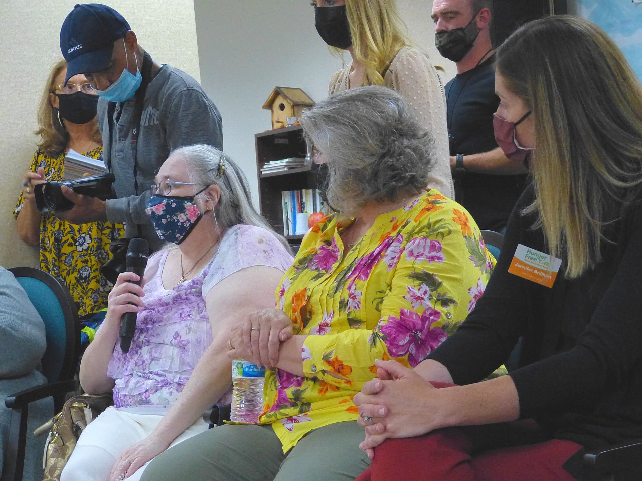 Seniors suggest improvements to Pa. food programs to First Lady Wolf, state officials
