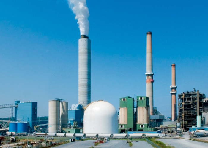 The Brunner Island power plant in York County burns both coal and natural gas. It is phasing out coal use from spring to fall, and plans  to phase out coal use altogether by 2028. (Source: Talen Energy)
