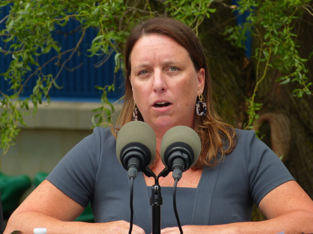 Acting Human Services Secretary Meg Snead