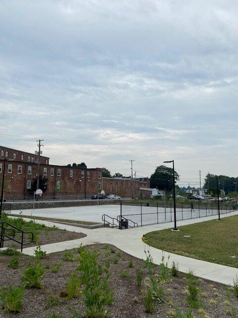 Culliton basketball court
