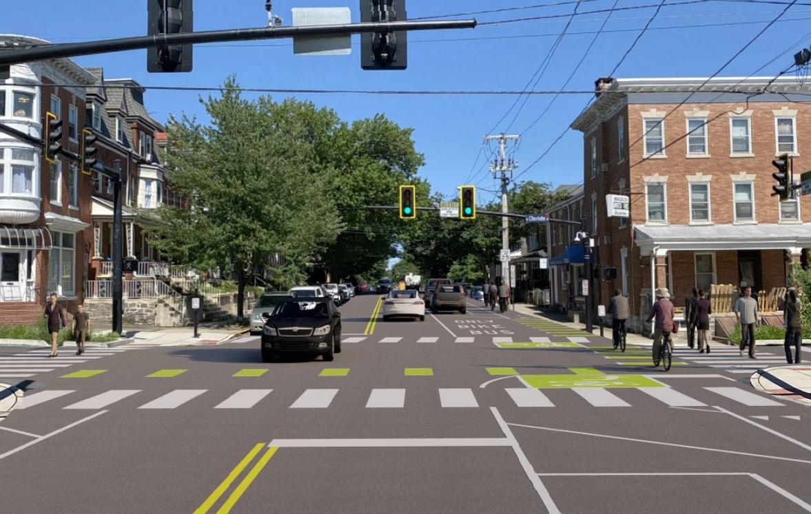 Lancaster plans bike lane along Lemon Street; public comment invited through Aug. 6