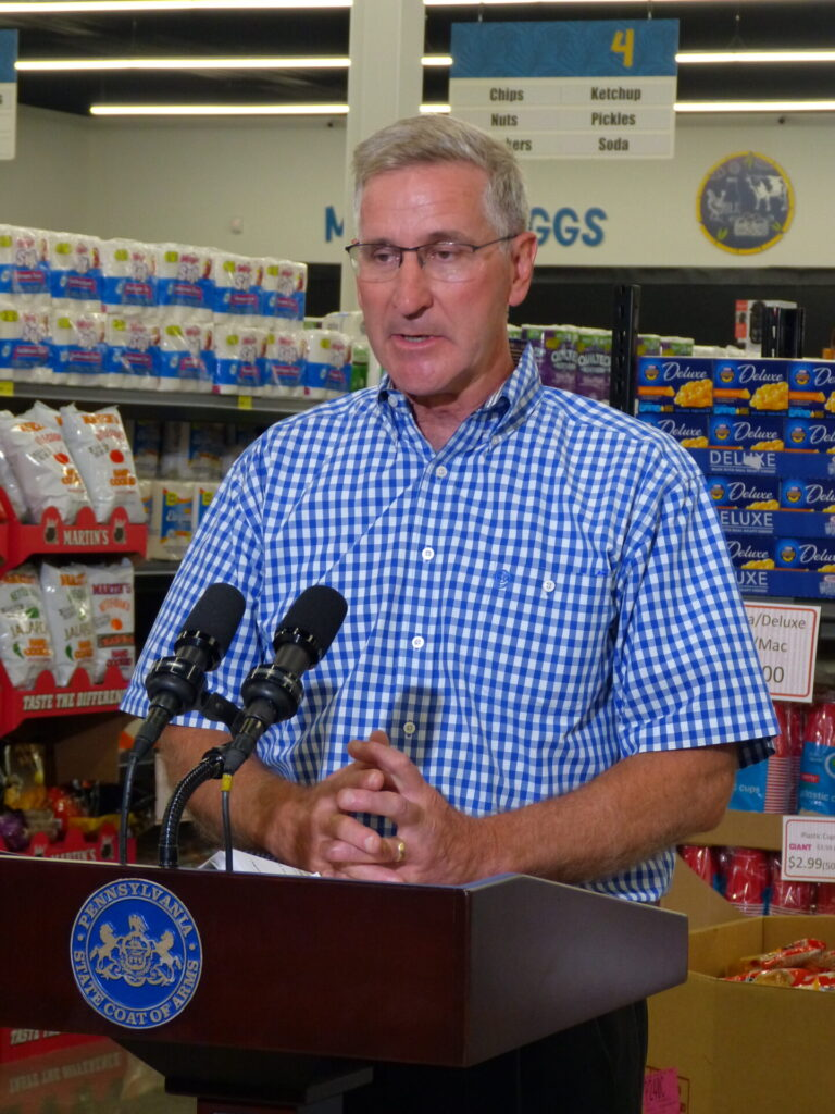 Agriculture Secretary Russell Redding