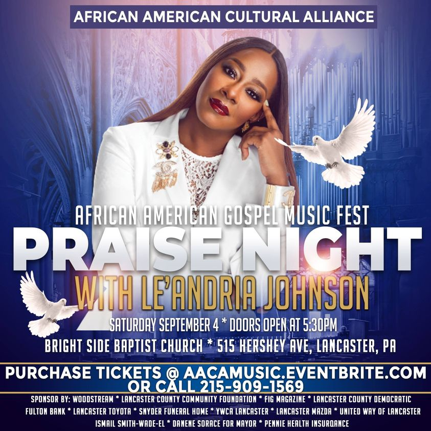 African American Cultural Alliance of Lancaster to host music festival