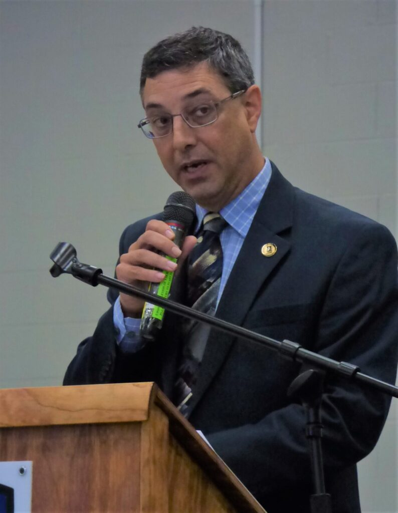 County Commissioner Ray D'Agostino