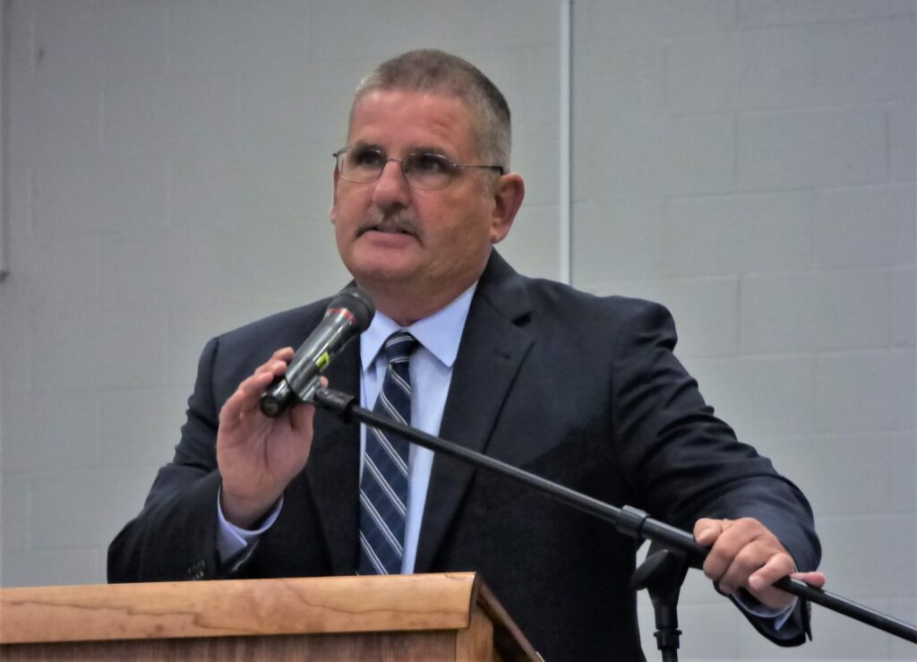 Todd Kirkpatrick, director of the Lancaster County Public Safety Training Center