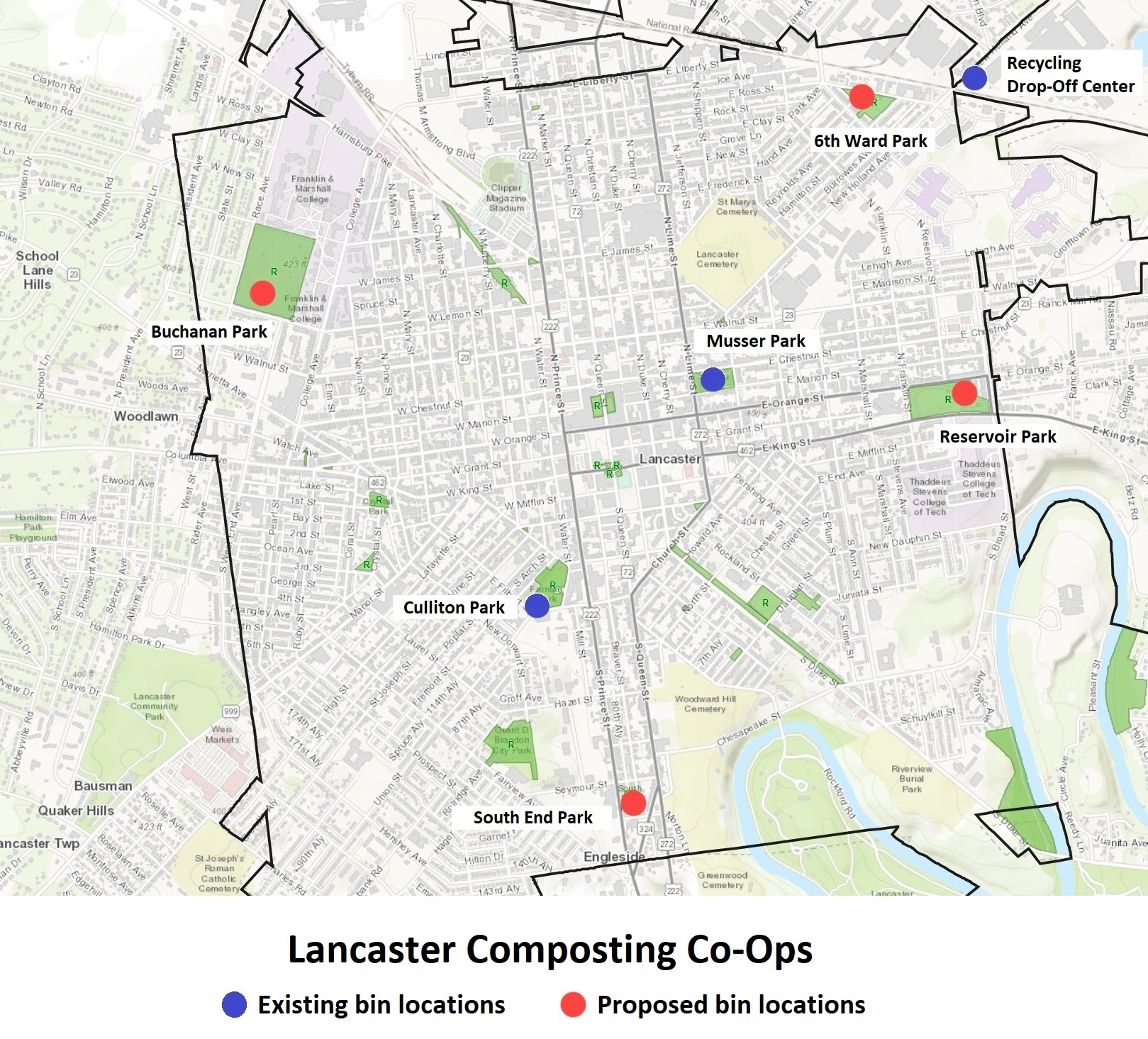Click to enlarge. (Source: Lancaster Composting Co-Ops | City of Lancaster)
