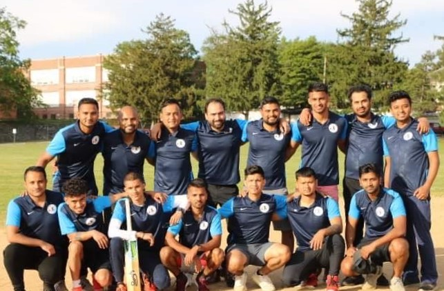 Refugees build Lancaster's first cricket pitch, to be unveiled at exhibition match Saturday