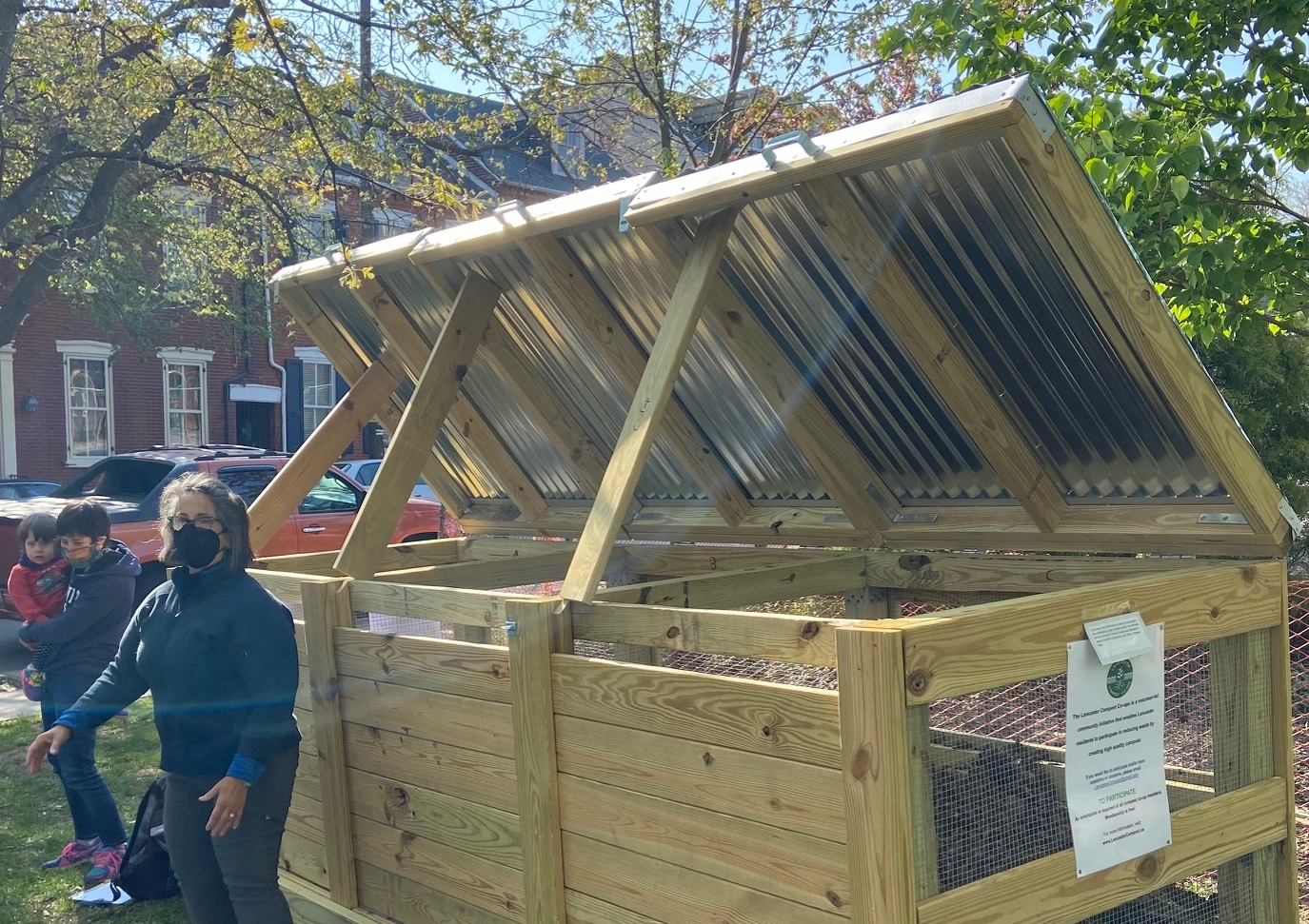Lancaster Composting Co-Ops opens third location, plans four more
